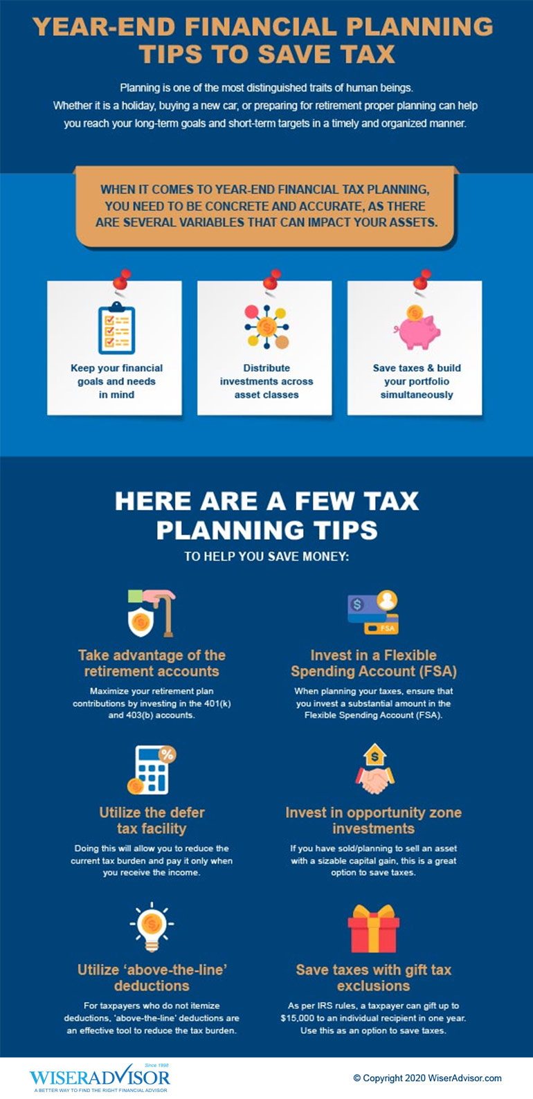 Year-End Financial Planning Tips to Save Tax